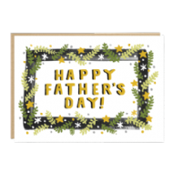 Jade Fisher 'Happy Father's Day' Card